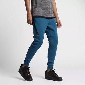 Men's Nike tech fleece tapered sweatpants blue 3XL